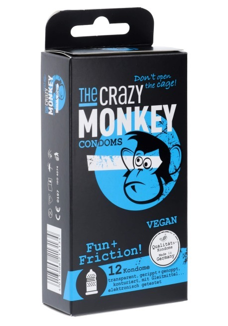 Crazy Monkey Fun Friction 12er (Kondom)